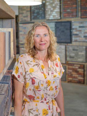 Foto van Maryse van Diepen, werkzaam bij Altena Steenhandel
